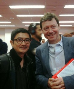 Dennis Clemente with Fred Wilson back in November